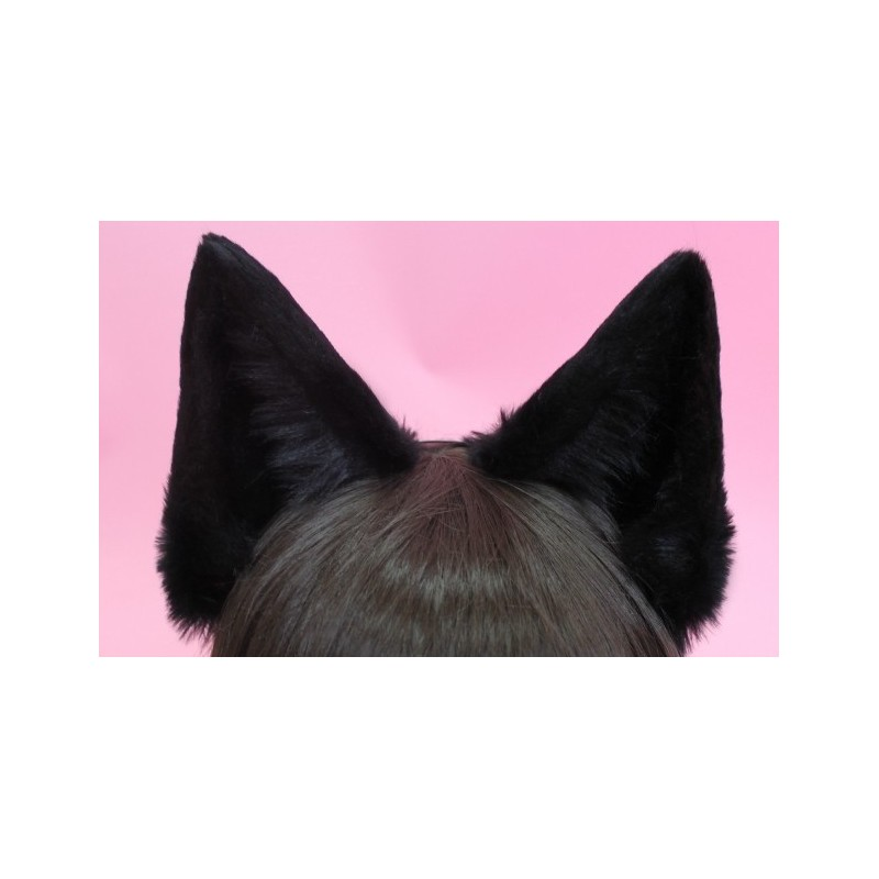 Black Canine Ears