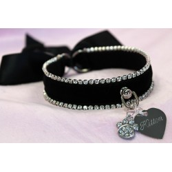 Kitten Queen Collar (Black)