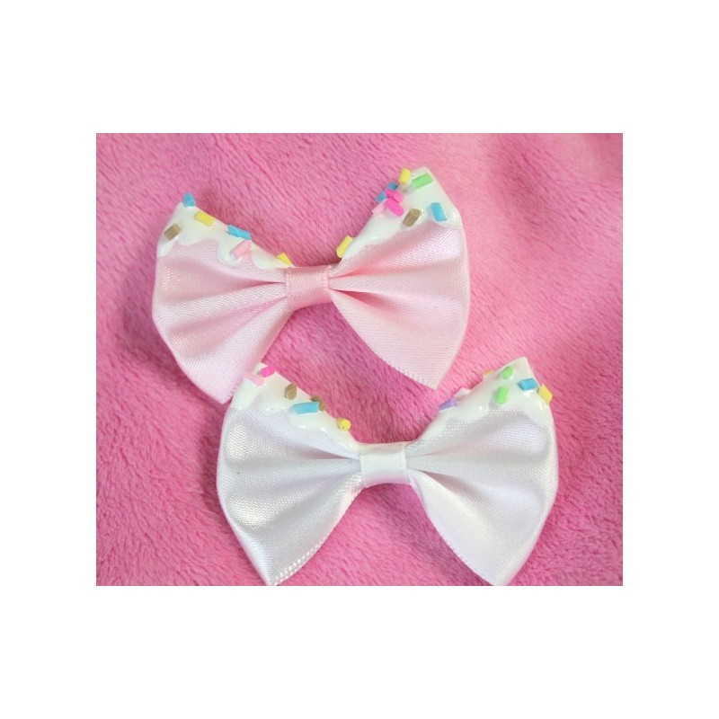 2 Removeable Sprinkle Bows (For Ears)