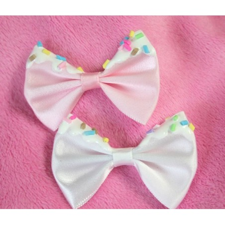 2 Sprinkle Bows  (For Ears) (Remove-able)