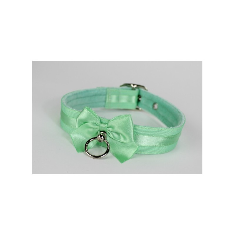 Mint Green Buckled Collar
