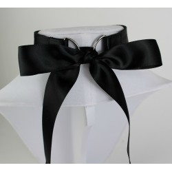 Black Satin Collar