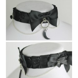 "12"" Black Moon Collar"