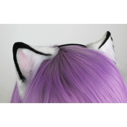 Arctic Fox Styled Kitten Ears