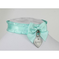 Seafoam Pleated Collar