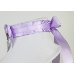 Lavender Pleated Collar