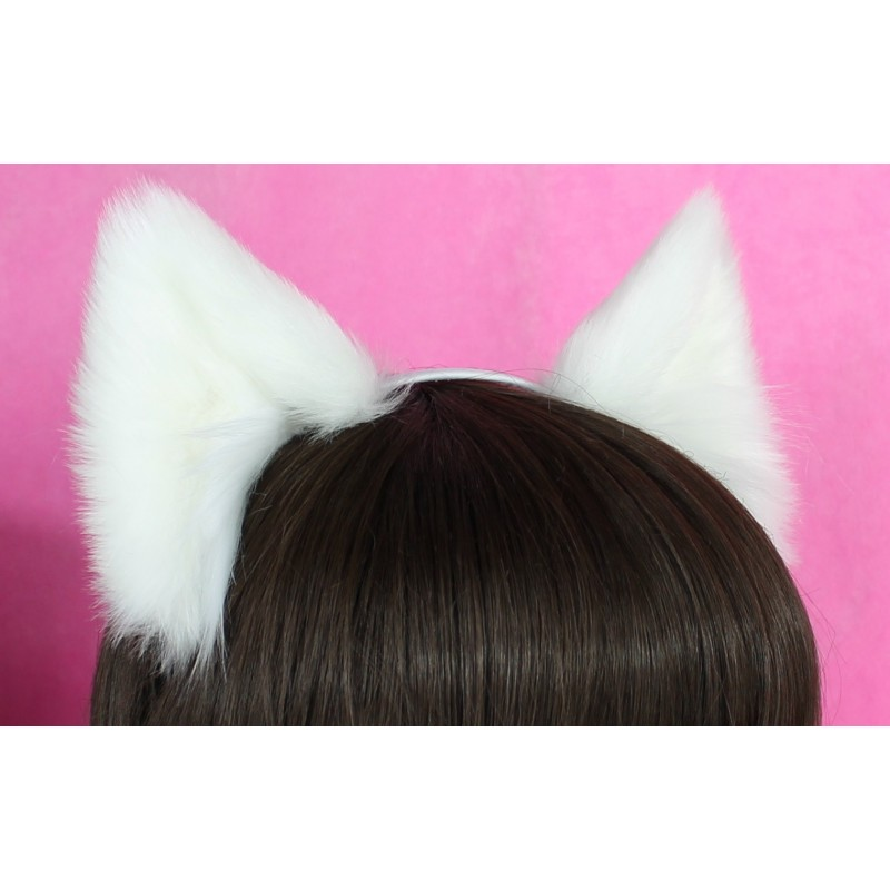 Pure White Ears
