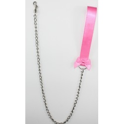 Bubble Gum Satin Leash