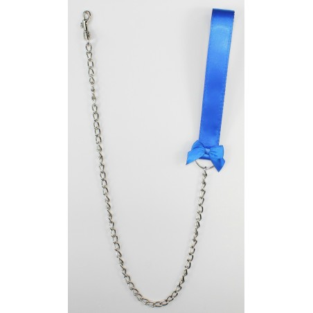 Royal Blue Satin Leash