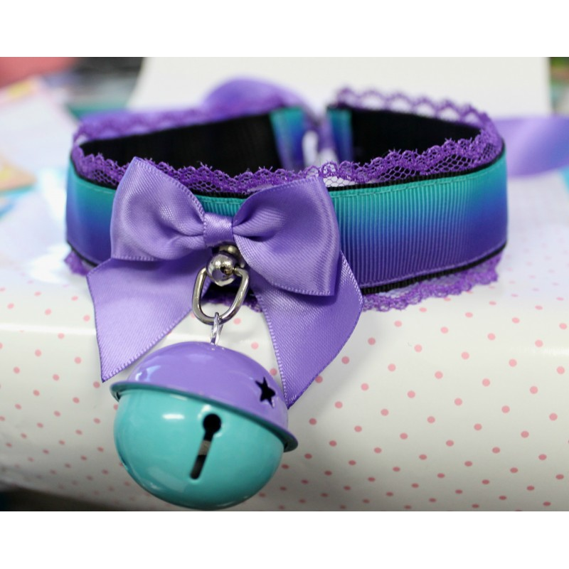 Purple & Turquoise Gradient Collar