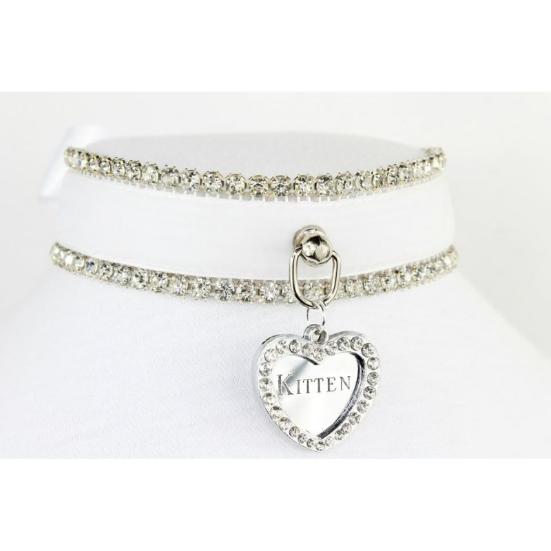 Kitten Queen Collar (White)