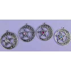 Celtic Moon & Stars Charms