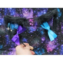 Dark Galaxy Cat Ears