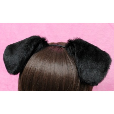 Black Puppy Ears