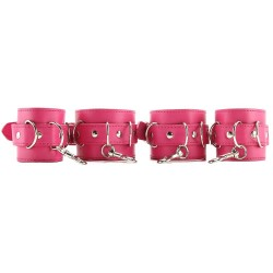 Pink Hogtie Set (Faux Leather)