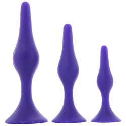 Silicone Plug Trainer Kit in Purple