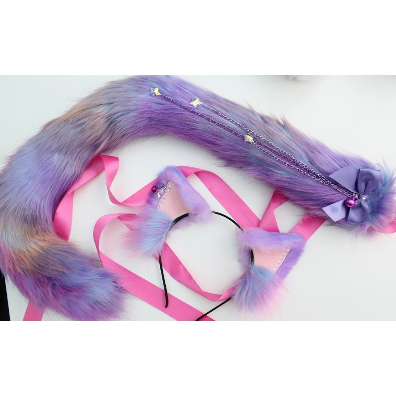 Sparkling Nebula Cat Set