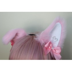 Sweetheart Puppy Ears (Pink)