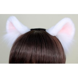 White Cub Ears (New Pattern!)