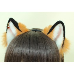 Baby Red Fox Ears (Kitten Pattern)