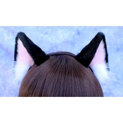 Black Cat Ears (AF-Short...
