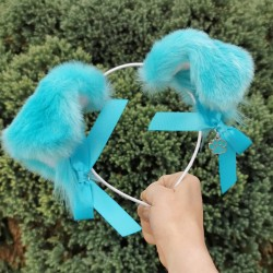 Teal Puppy Ears (Includes...
