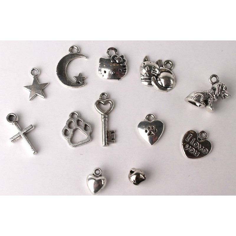 Silver Charms (Small)