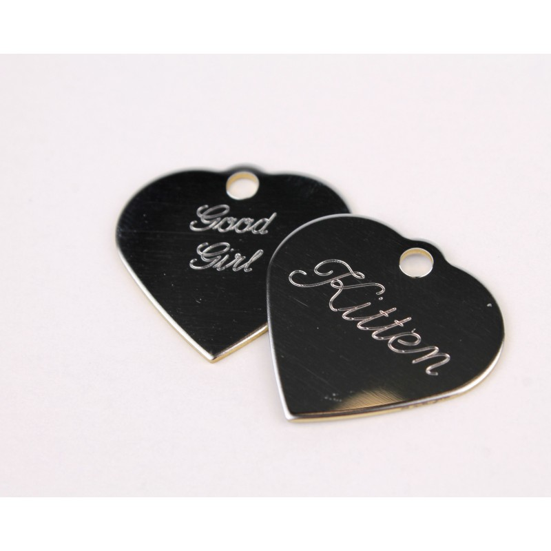 Custom Metal Tags (ENGRAVED/Double Sided)
