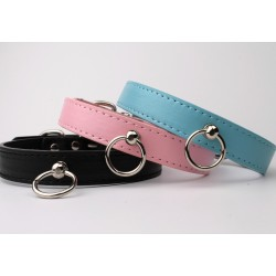 Faux Leather Collars